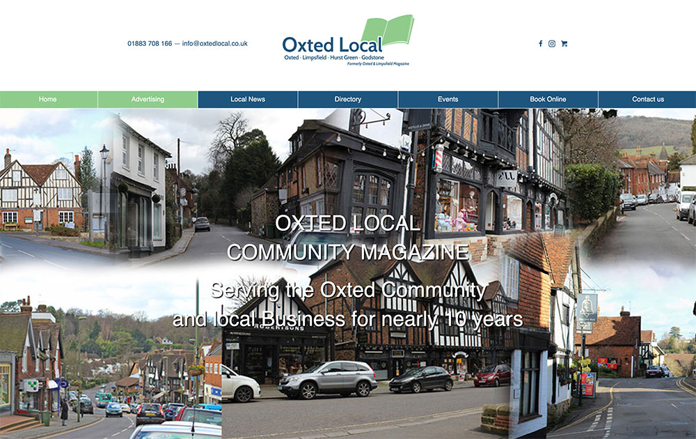 Oxted Local New Website